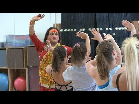 In the dance studio: Rehearsing with Laxmi Narayan Tripathi