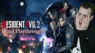 Resident Evil 2 Remake Gameplay Part 1- Leon Mr X Reaction | Resident Evil 2 Walkthrough Playthrough