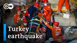 Turkey 7.0 Earthquake: Rush To Find Survivors As Death Toll Rises | DW News