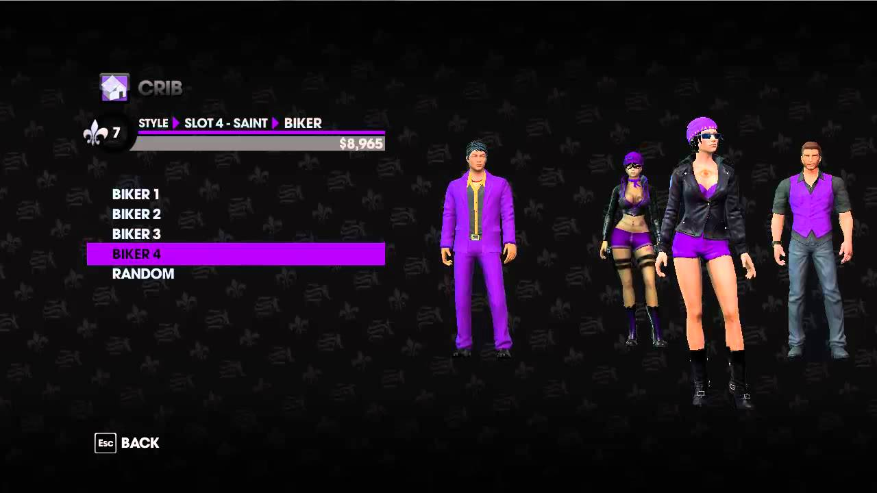 Co-op Saints Row the Third - Extra - Gang customisation ...