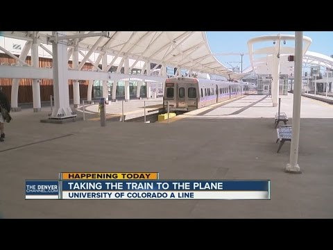 Train from Union Station to airport opens today!
