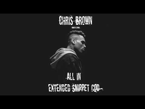Chris Brown - All In - New Extended Snippet (CDQ)
