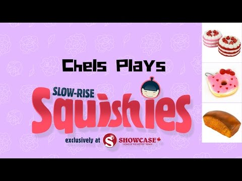 Squishies! I Surprise My Dad - Slow Rise Squishies Now In Canada at Showcase #SlowRiseSquishies