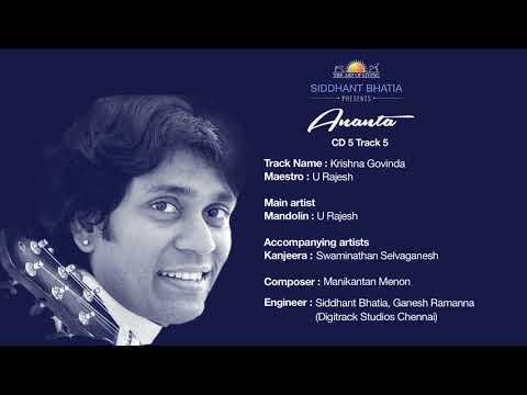"""Ananta"" Volume 1 - Maestros of India - U Rajesh"