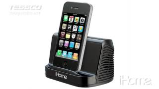 iHome iHM16 Portable Stereo Speaker System for iPad iPod Touch MP3 Player