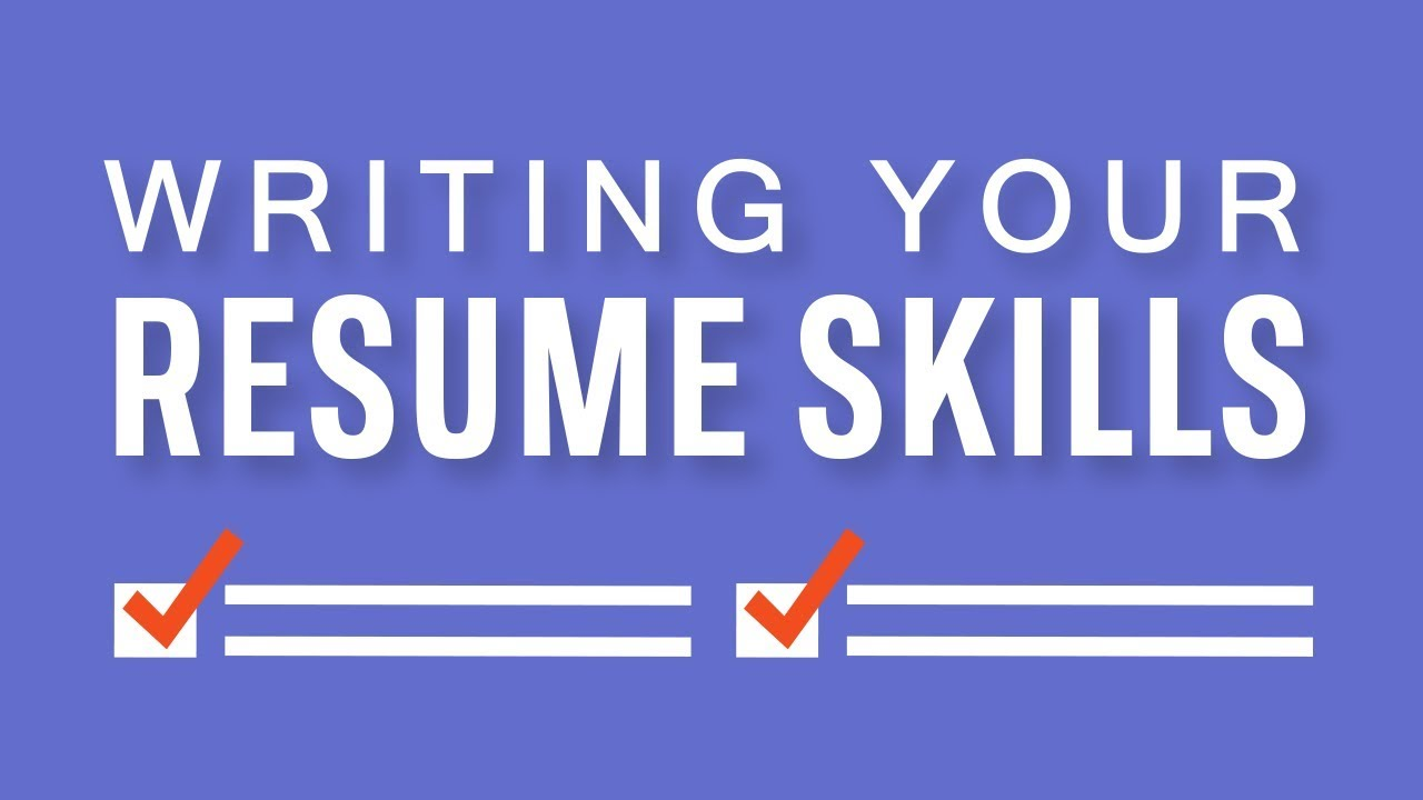 Resume Writing: Additional Information and References