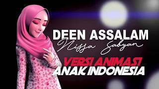 Video Deen Assalam - Sabyan (Versi Animasi Indonesia) download MP3, 3GP, MP4, WEBM, AVI, FLV Agustus 2018