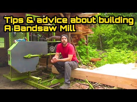 Homemade sawmill tips on  how to building one