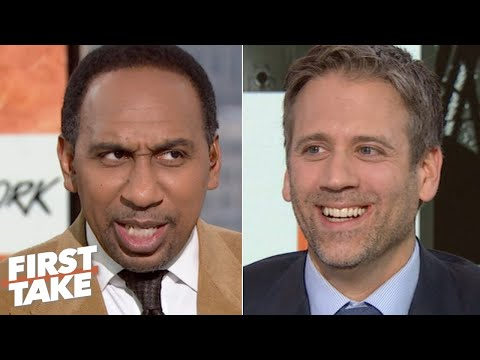 Stephen A. defends Nick Saban against Max Kellerman's 'blasphemous' take | First Take