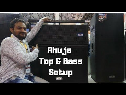 Ahuja Top & Bass DJ Setup  Indian Company Ahuja Setup, Delhi