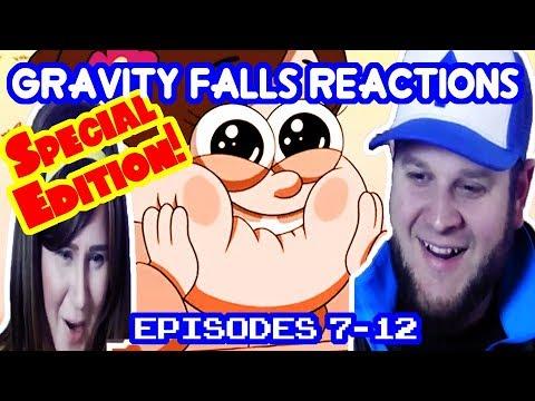 Gravity Falls Season1 Episodes 7-12 reaction (Special edition edit)