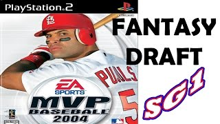 MVP Baseball 2004 Gameplay - Fantasy Draft with Devil Rays