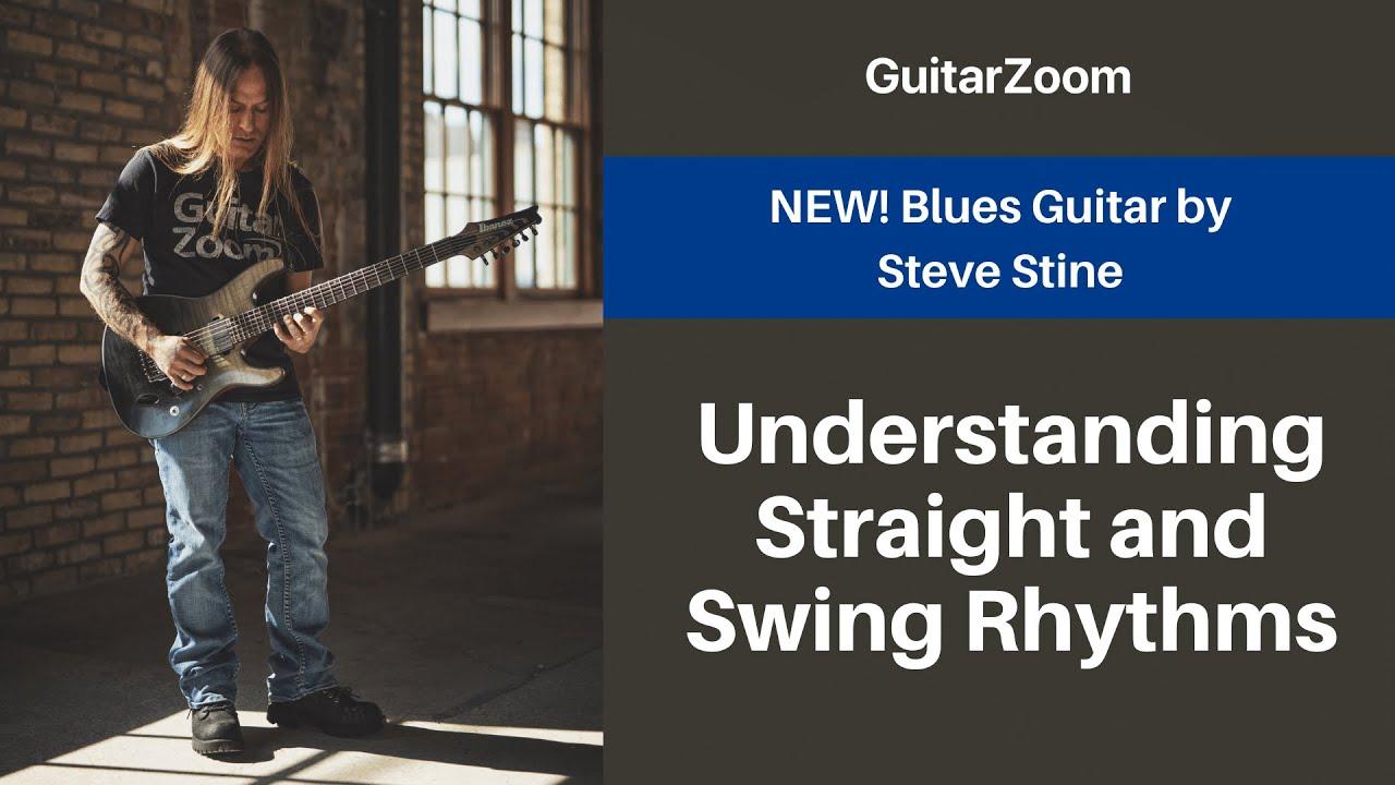 Understanding Straight and Swing Rhythms | Blues Guitar Workshop