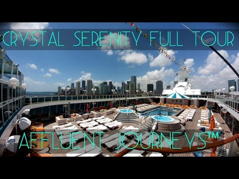 Crystal Serenity Full Tour