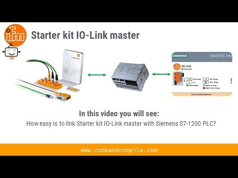 How to link Siemens S7-1200 with ifm Starter kit IO-Link master