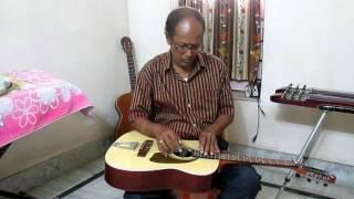 Kata Nishi Gechhe Nindhara on Hawaiian Guitar played by Achintya Karmakar