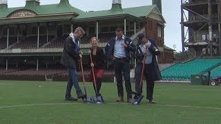 Major League Baseball SCG Pitch Inspection Press Conference
