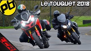 S1000XR Vs Multistrada 1260 | Performance Bikes Le Touquet Test