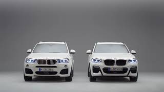 The 2nd Generation BMW X3 vs the 3rd Generation BMW X3.