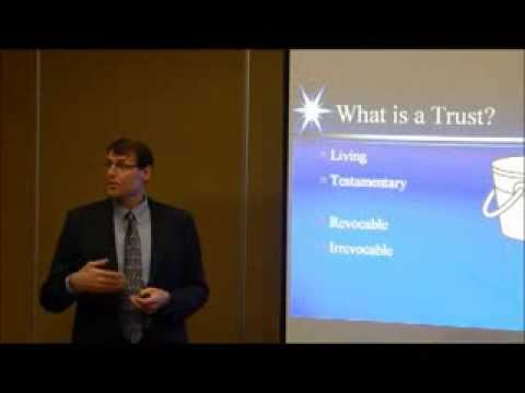 What Is a Trust? (Video 1 by Ron Adams, Chandler AZ Estate Planning Attorney)