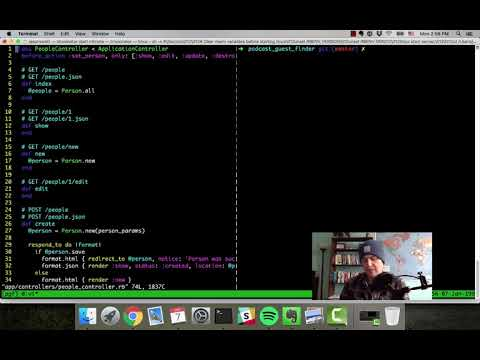 My Vim setup for Rails - Code with Jason