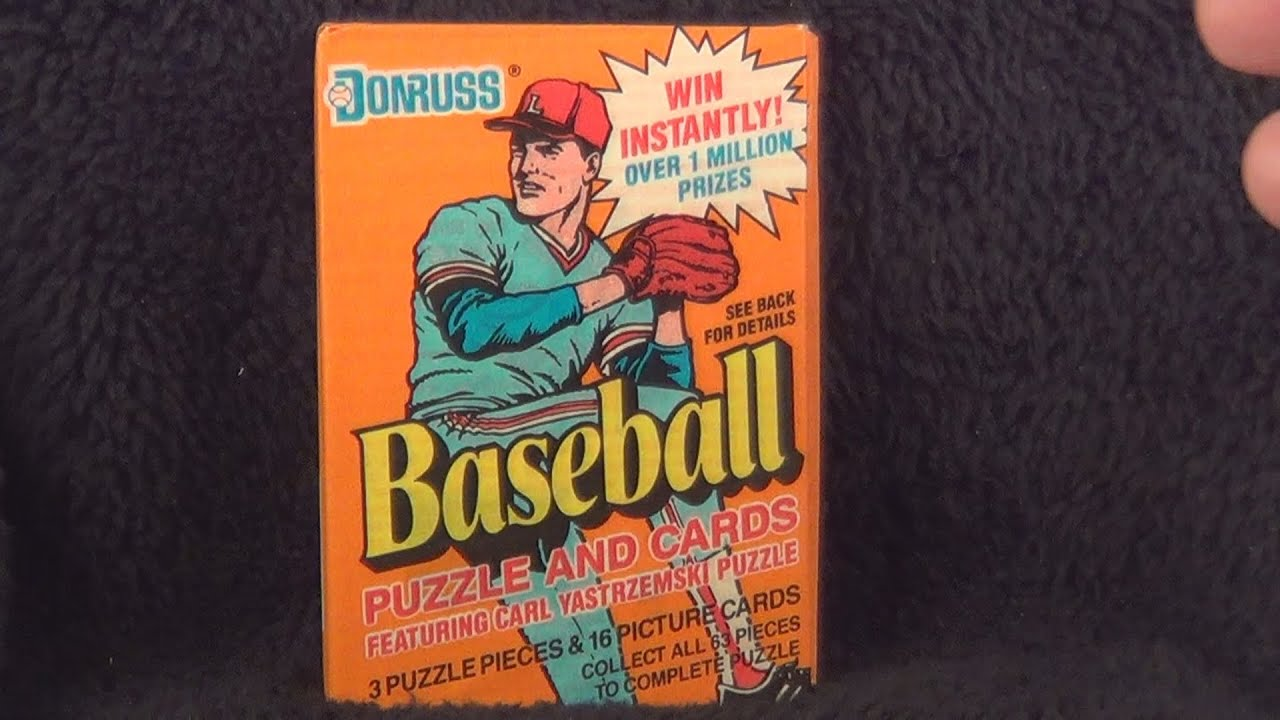 1990 Donruss Baseball Trading Cards Packs 1 2 Opening Frank Thomas Juan Gonzalez Rookie