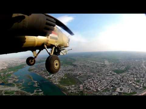 كاميرا بي بي سي تحلق فوق الموصل - فيديو بتقنية 360 درجة
