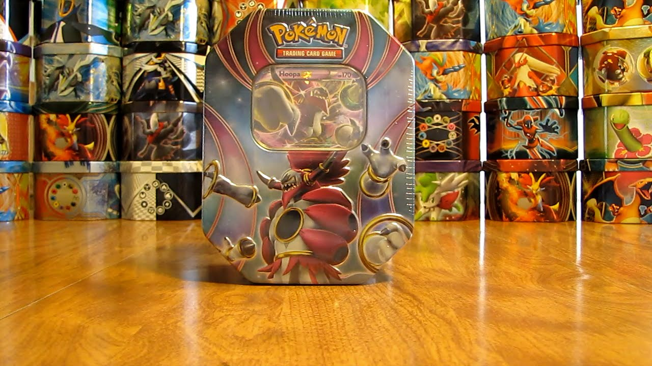 POKEMON ONLINE CODE CARD FROM THE 2015 HOOPA TIN