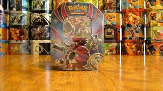 Pokemon Hoopa EX Tin Opening