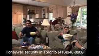 Honeywell security alarm system