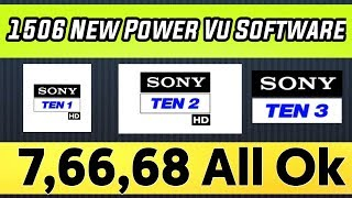 Power vu ok on all 1506 maltimidia code hd receivers