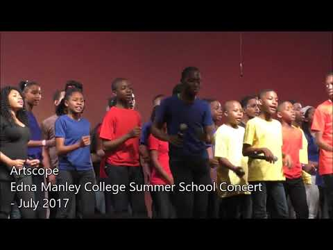 Edna Manley College summer school concert 2017