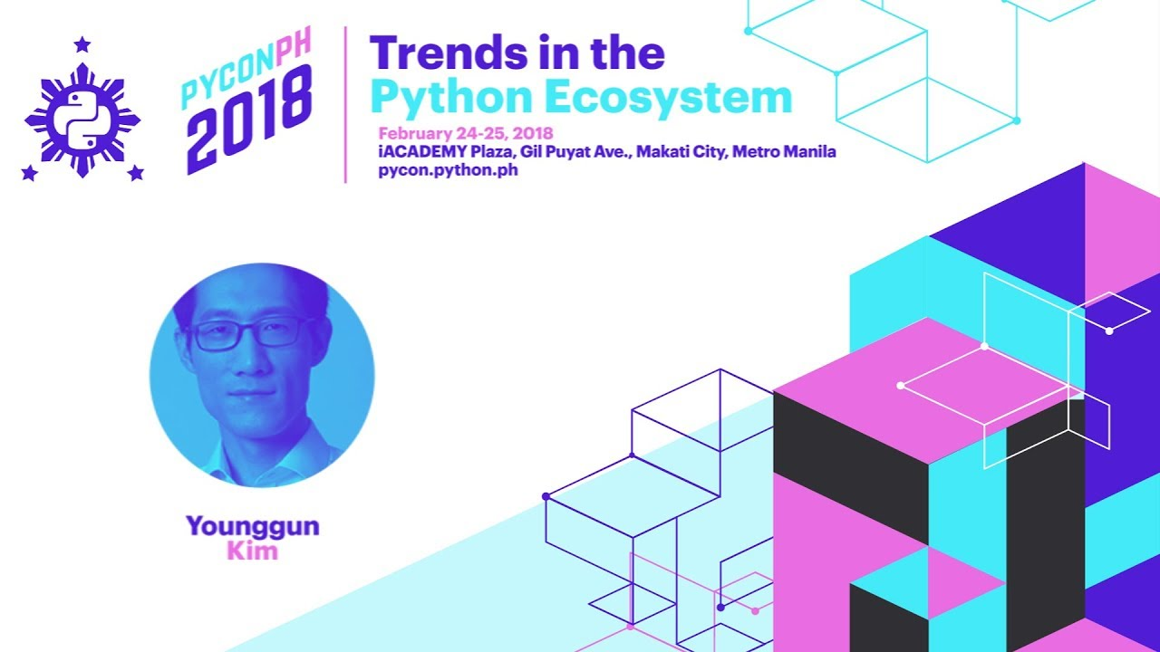 Image from PyCon PH 2018 Younggun Kim - Python Community and Olympism