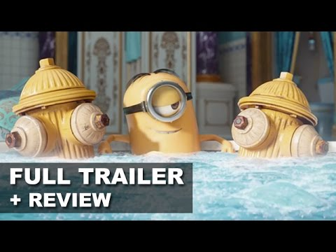 Minions 2015 Official Trailer 3 + Trailer Review : Beyond The Trailer streaming vf