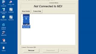How to recover GM MDI globaltis?