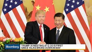 U.S., China Discuss Xi-Trump Talks as Trade War Simmers