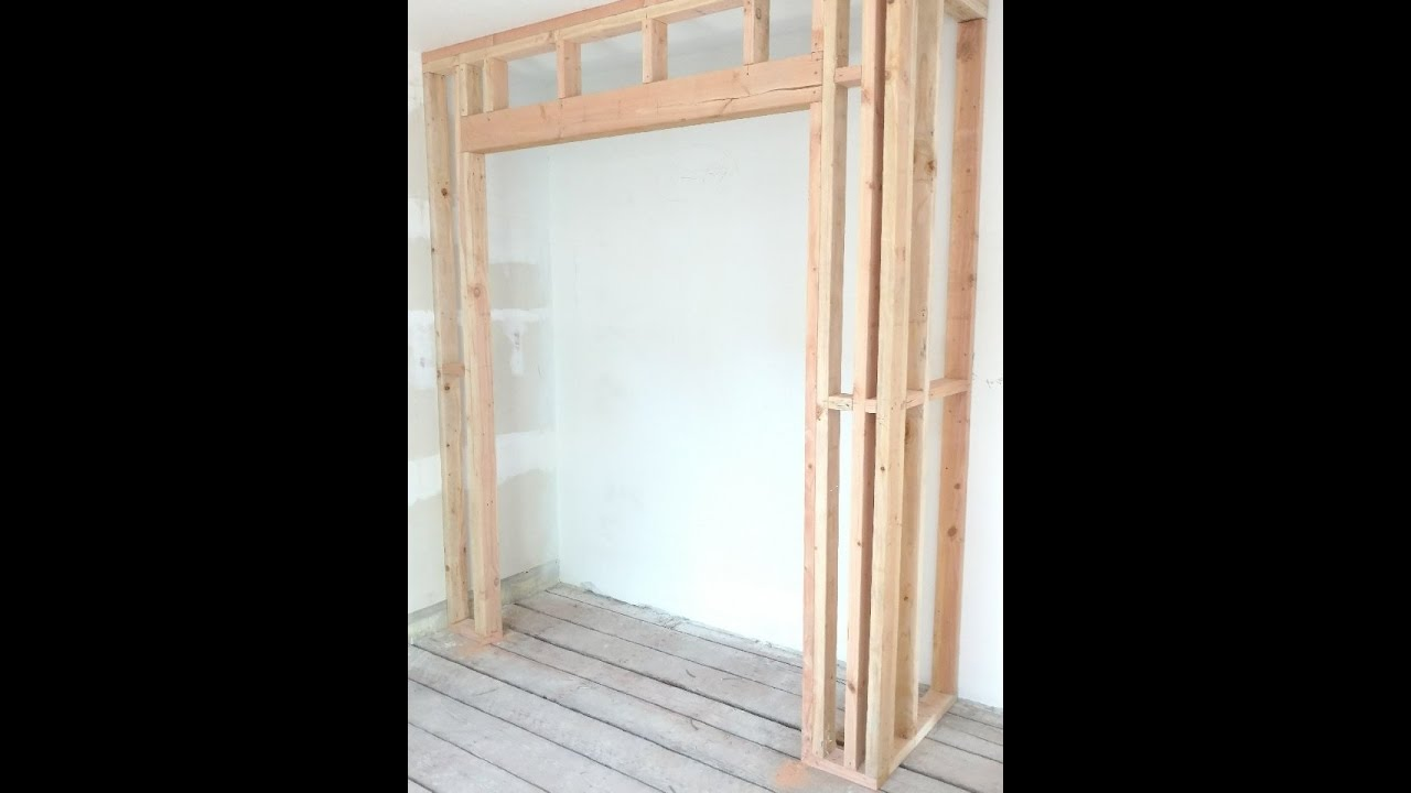 How to Frame a Closet by CoKnowPro YouTube  YouTube