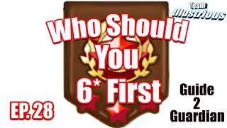 TMG Summoners War Guide: G2G 28/40 Who Should You 6* First?