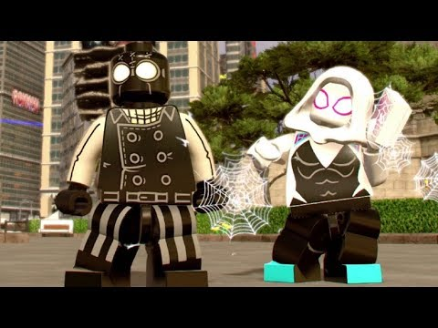 LEGO Marvel Super Heroes 2 - Vibranium Vanquisher Challenge (All 10 Vibranium Soldier Groups)