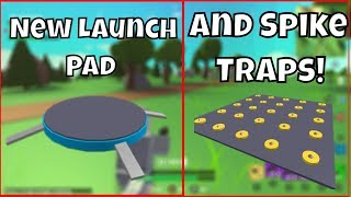 🔴 NEW LAUNCH PAD AND SPIKE TRAPS // ROBLOX // Island Royale // 50 Wins // Island Royale Gameplay
