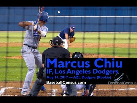 Marcus Chiu, IF, Los Angeles Dodgers — August 14, 2017
