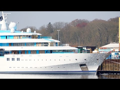 NEW Mega Yacht GOLDEN ODYSSEY / TATIANA Project