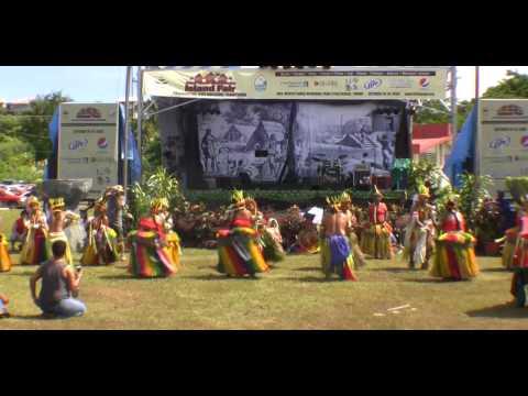 Cultural Dancers of  Yap - Guam Micronesian Fair 2009