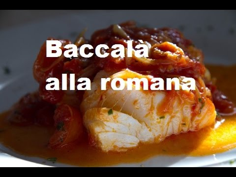 Cucina Ebraica Romana 2 Baccala Alla Romana Youtube