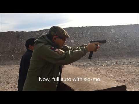 Shoot Las Vegas Glock 18C Beretta 93R Full Auto