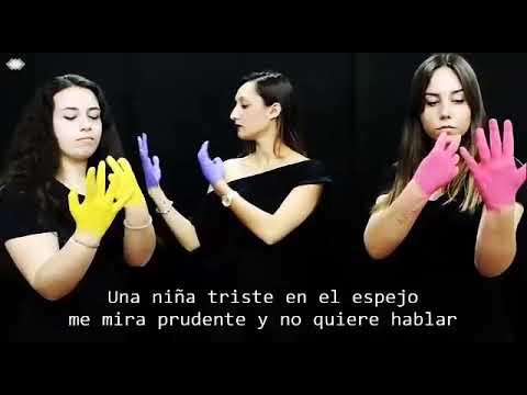 La puerta violeta en lengua de signos. Rozalén. CFGS Integración Social del IES Ben Gabirol