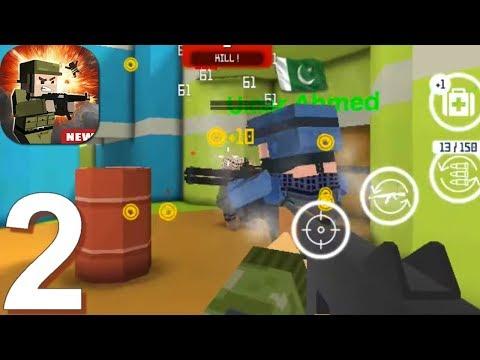 Block Gun: FPS PvP War - Online Gun Shooting Games - Gameplay Walkthrough Part 2 (Android, IOS Game)