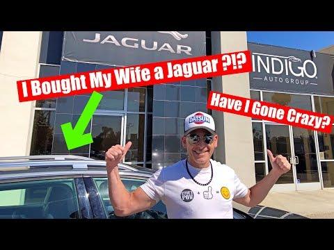 奥さんの車を買っちゃいました!まさかのジャガーで決定!? I Bought My Wife A Car; But A Jaguar?!?!?