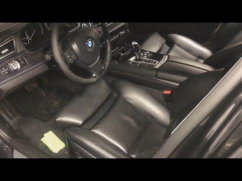 Чистка салона BMW 7 F01/F02 за 300 РУБЛЕЙ