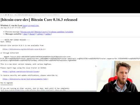 DigiTalk #4 - DigiByte 6.16.5 And The Bitcoin Transaction Bug
